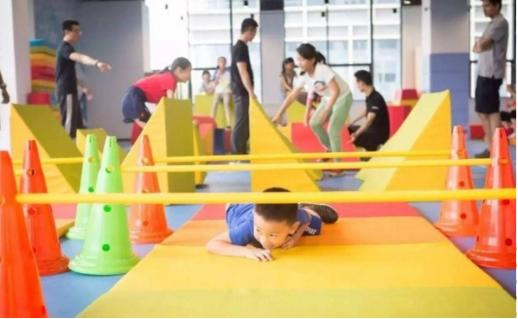 儿童运动市场迅速崛起,星期六儿童运动馆应势发展