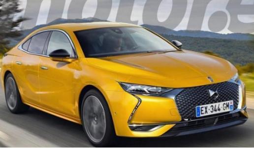 长安标致雪铁龙旗下新车DS9设计获新突破,矫健更有型