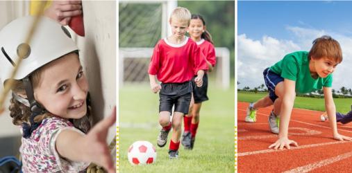 星期六儿童运动馆,凭借6大课程立足儿童市场前端