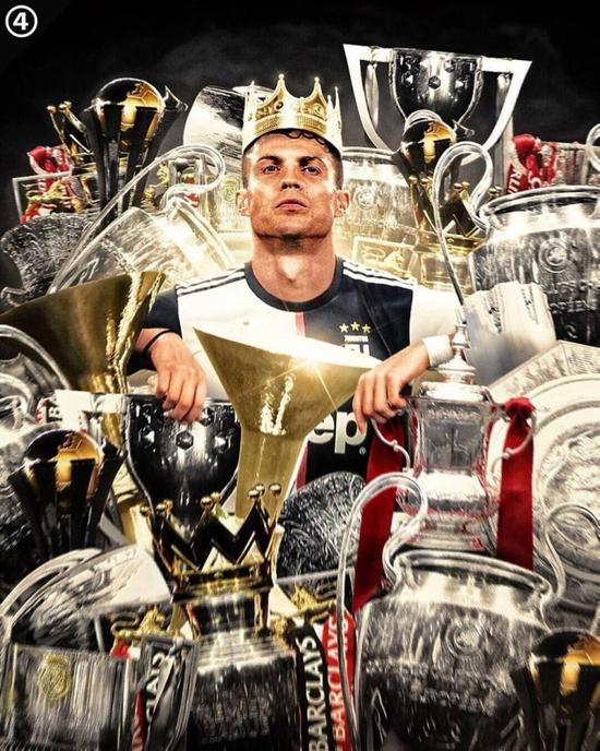 35岁的罗纳尔多赢得了他职业生涯中的第32次国际足联官员头衔