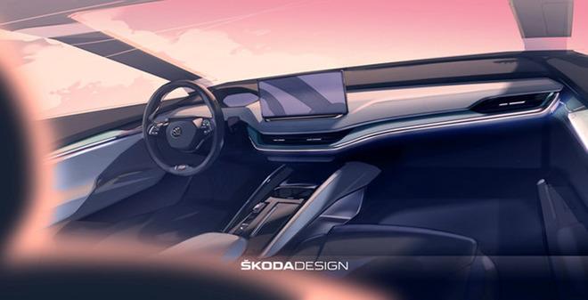 """未来""""设计理念斯柯达纯电动SUV"""