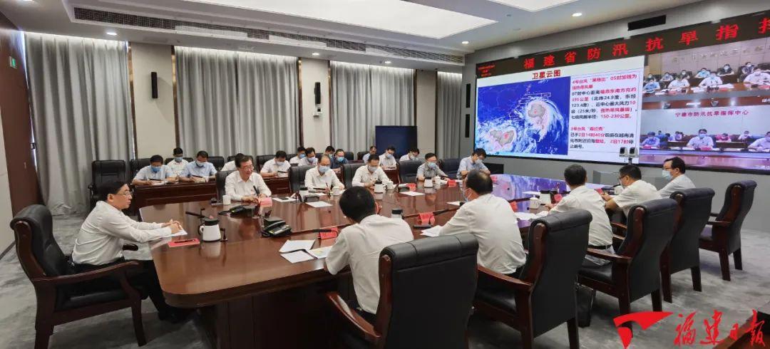 """福建第四号防御台风黑格比""""进入紧急倒计时"""