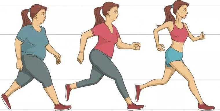 只要你在间隔间行走,就可以减肥和收缩腰围