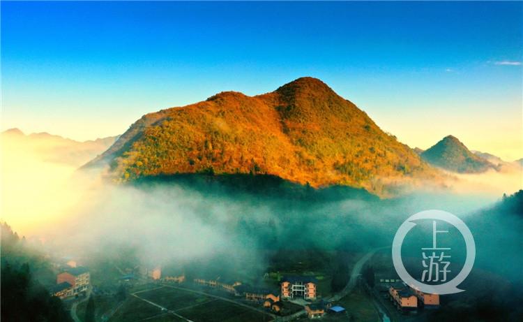 """高山村落的""""蜕变"""":""""黑叶猴""""花果山将成为一个特殊的乡村旅游目的地"""