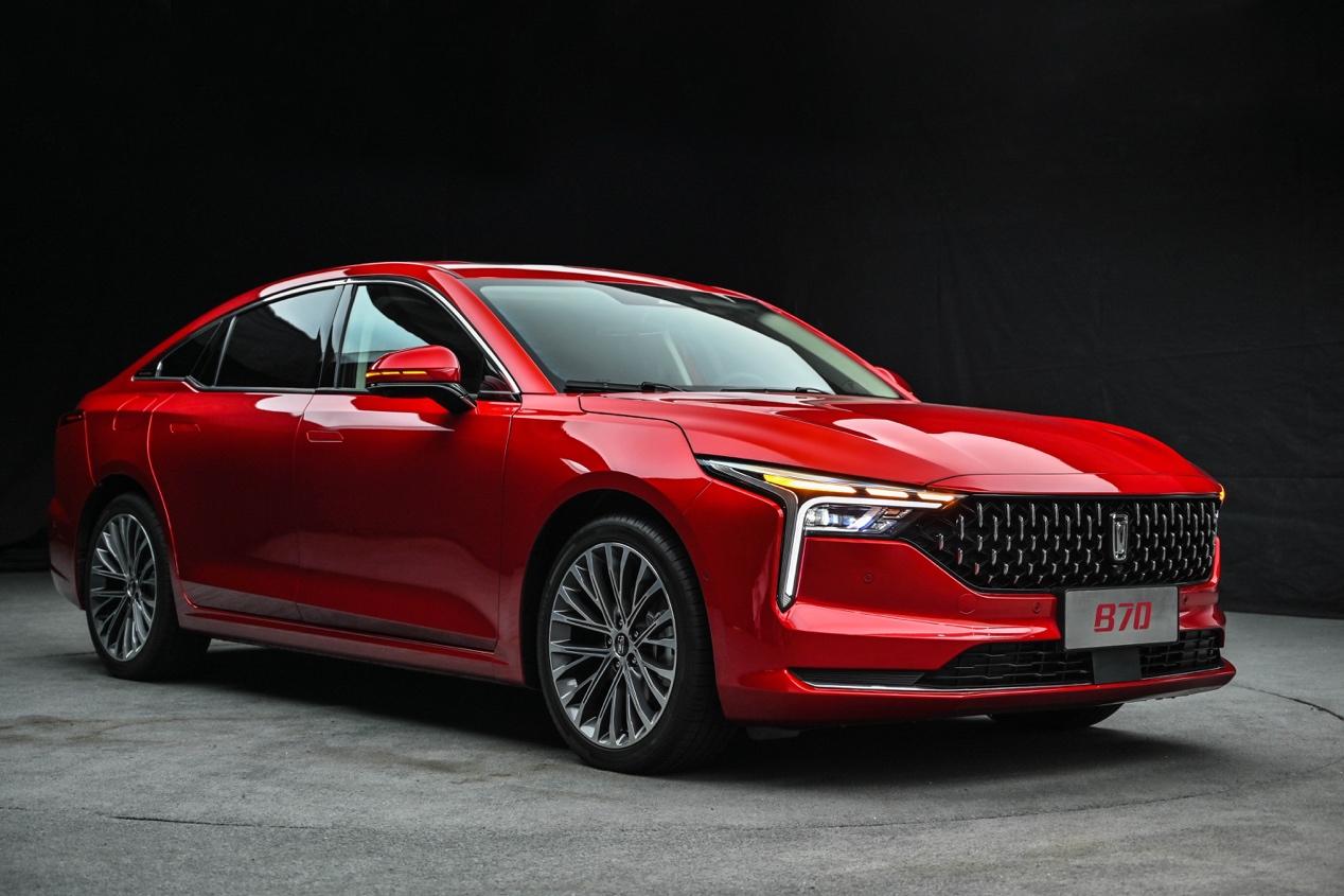"""制造概念车""""量化和新的第三代奔腾B70"""