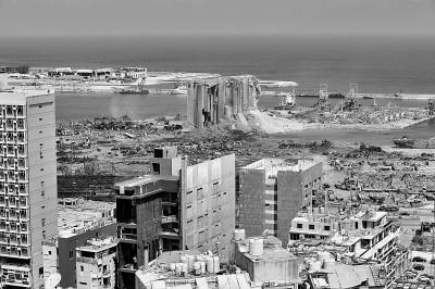 多地方援助陷入困境的黎巴嫩,希望之光点燃