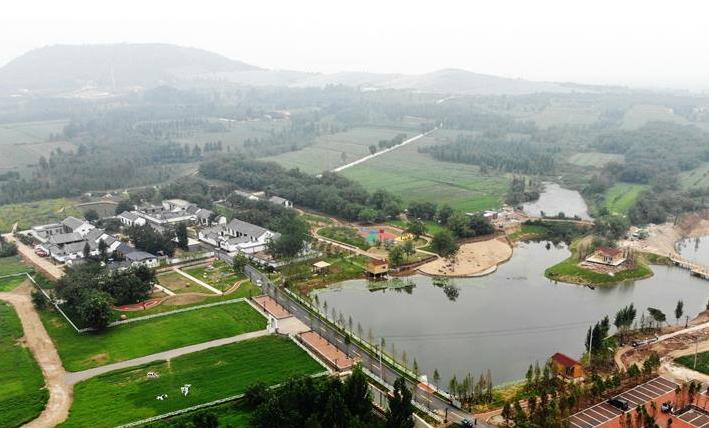 山东汶上:绿色发展乡村 ,居住地优美