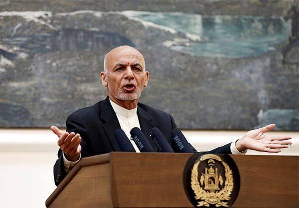 阿富汗总统加尼