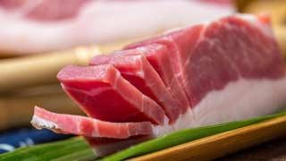今年将再投资1万吨冷冻猪肉,总投资50万吨