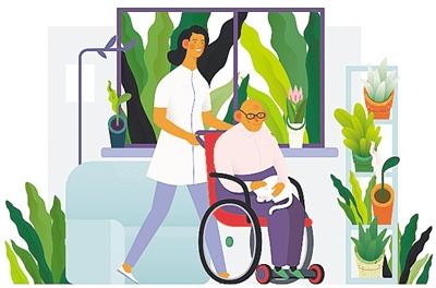 科技加持让搬回家的养老床位更加舒适