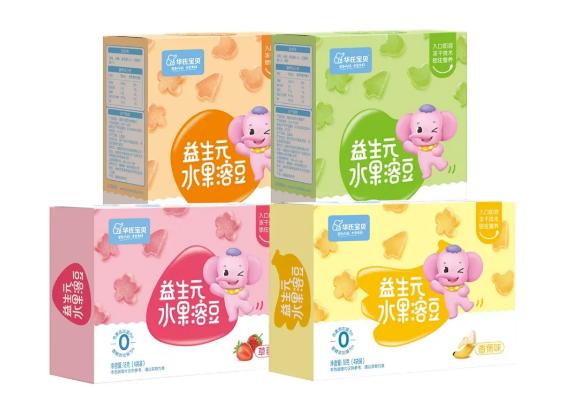 今年夏天又一款新产品,华氏宝贝益生元溶豆,给你带来甜蜜的震撼