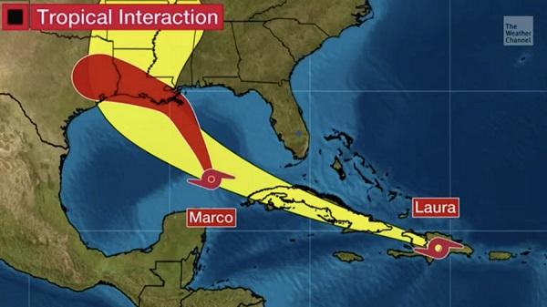 百年未见!墨西哥湾的两次热带风暴可能会加剧为飓风