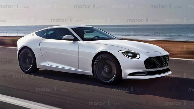 世界上第一辆日产是新一代的Z系列跑车.