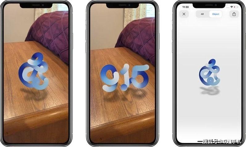 使用iPhone访问Apple发布页面,您可以看到一个AR彩蛋