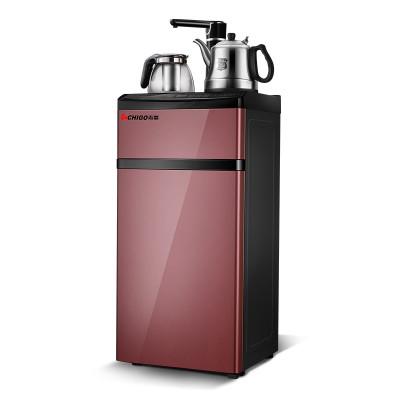 志高(chigo)b-02茶吧机家用速热饮水机立式多功能触屏茶吧机智能办公室开水机