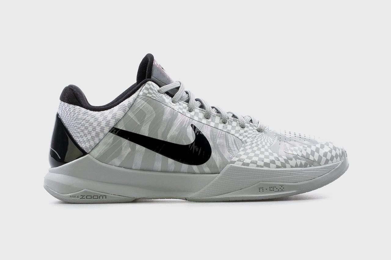 DeMar DeRozan的Nike Kobe 5 Protro Zebra PE将开始零售