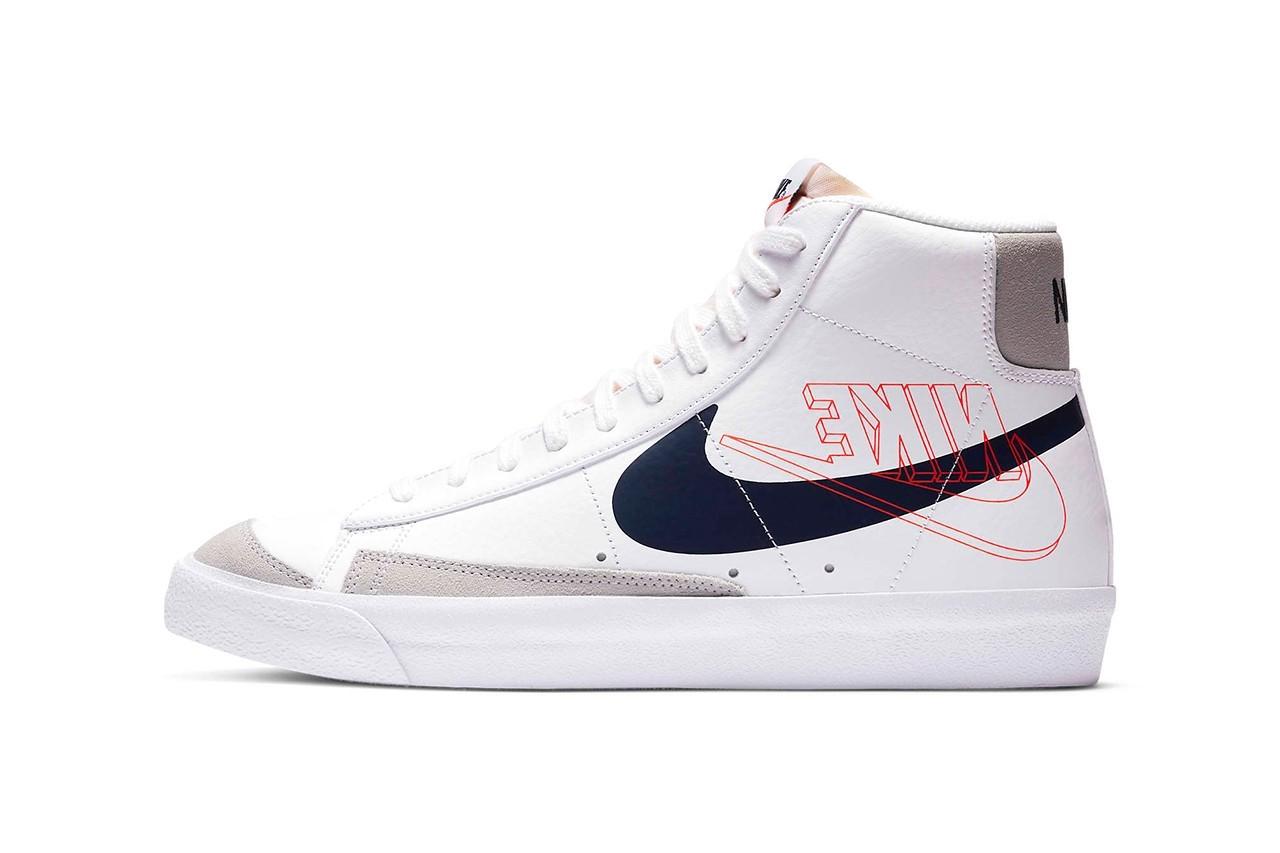 Nike Blazer Mid '77 双Swoosh标志版