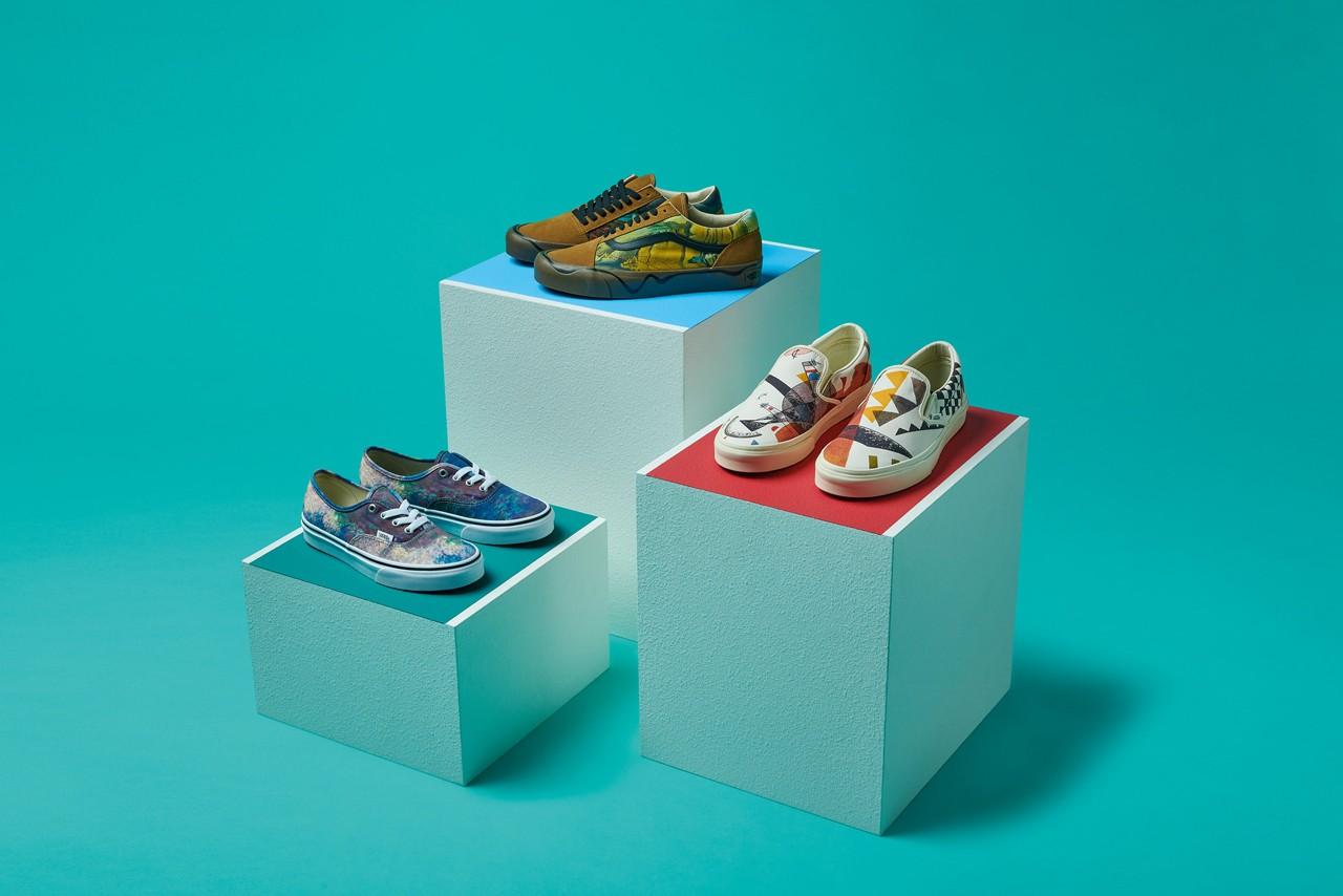 Vans 精心设计的鞋和服装来恭贺MoMA 系列