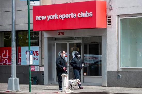 美国健身房倒闭潮中 又一巨头申请破产