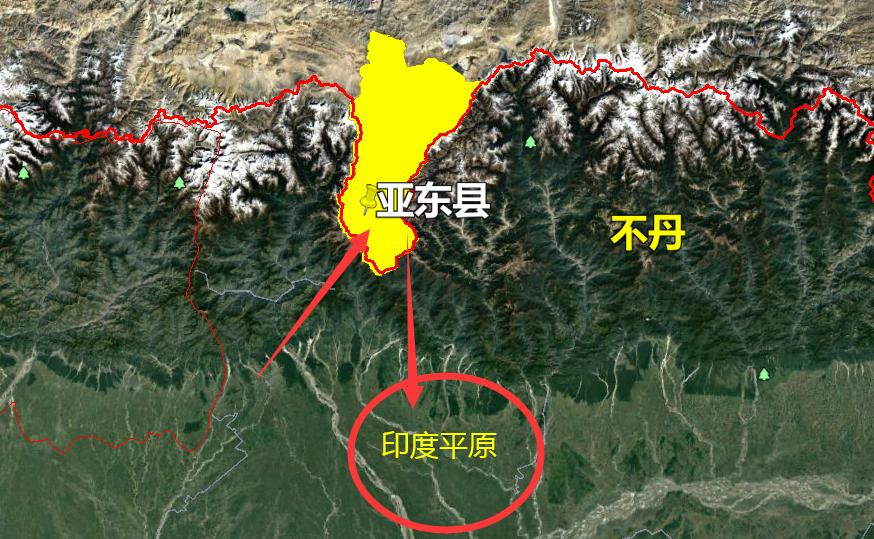 青藏高原以南的这个县,离印度平原仅仅25公里,可直接驶入该县