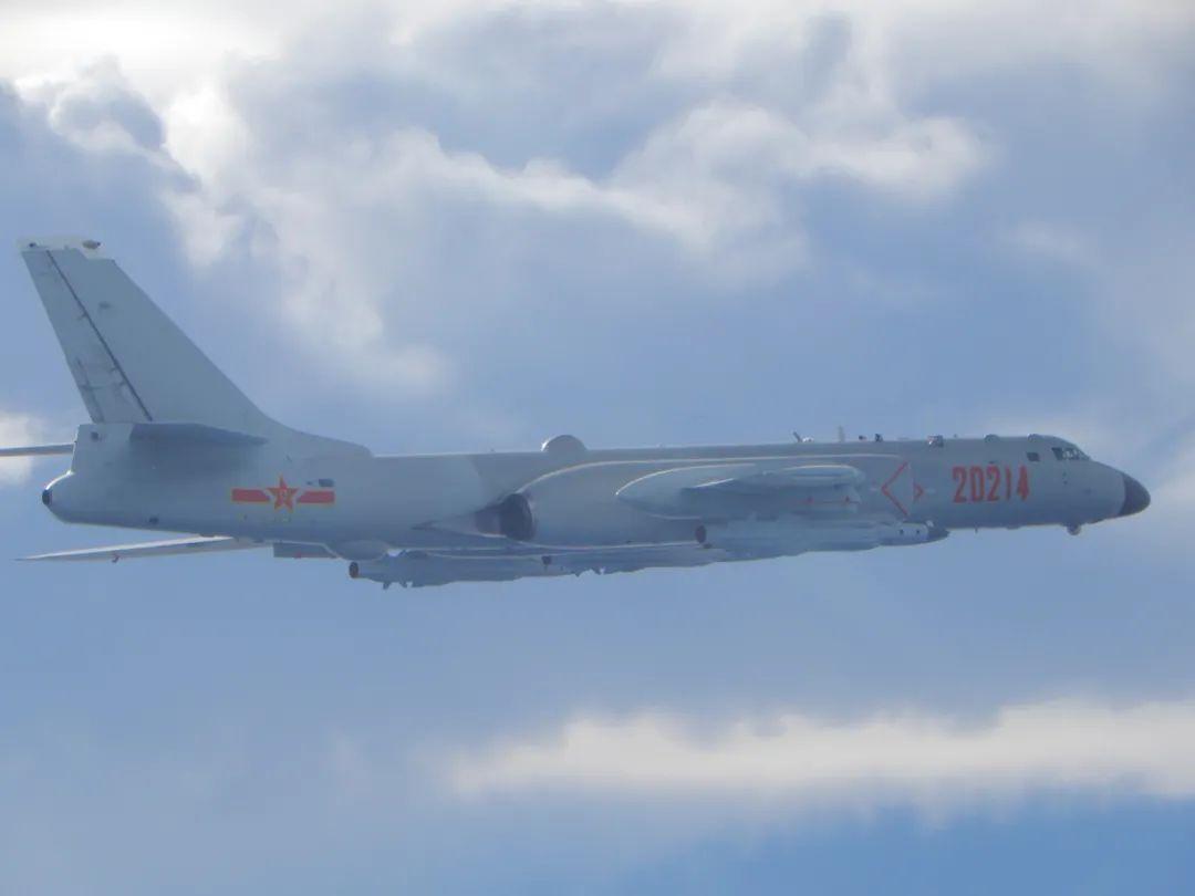 台湾军队今天宣布了解放军跨线舰队和模型