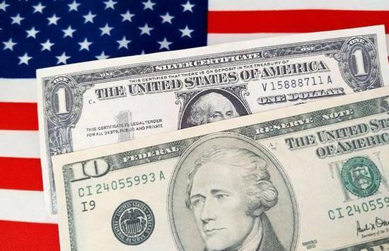 美国第二季度政府债务跃升59%