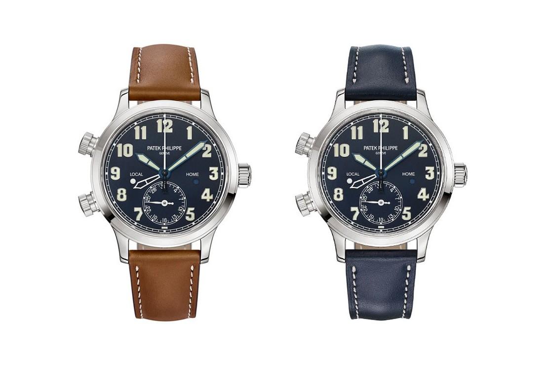 百达翡翠发布 Calatrava 先导旅行时间系列腕表