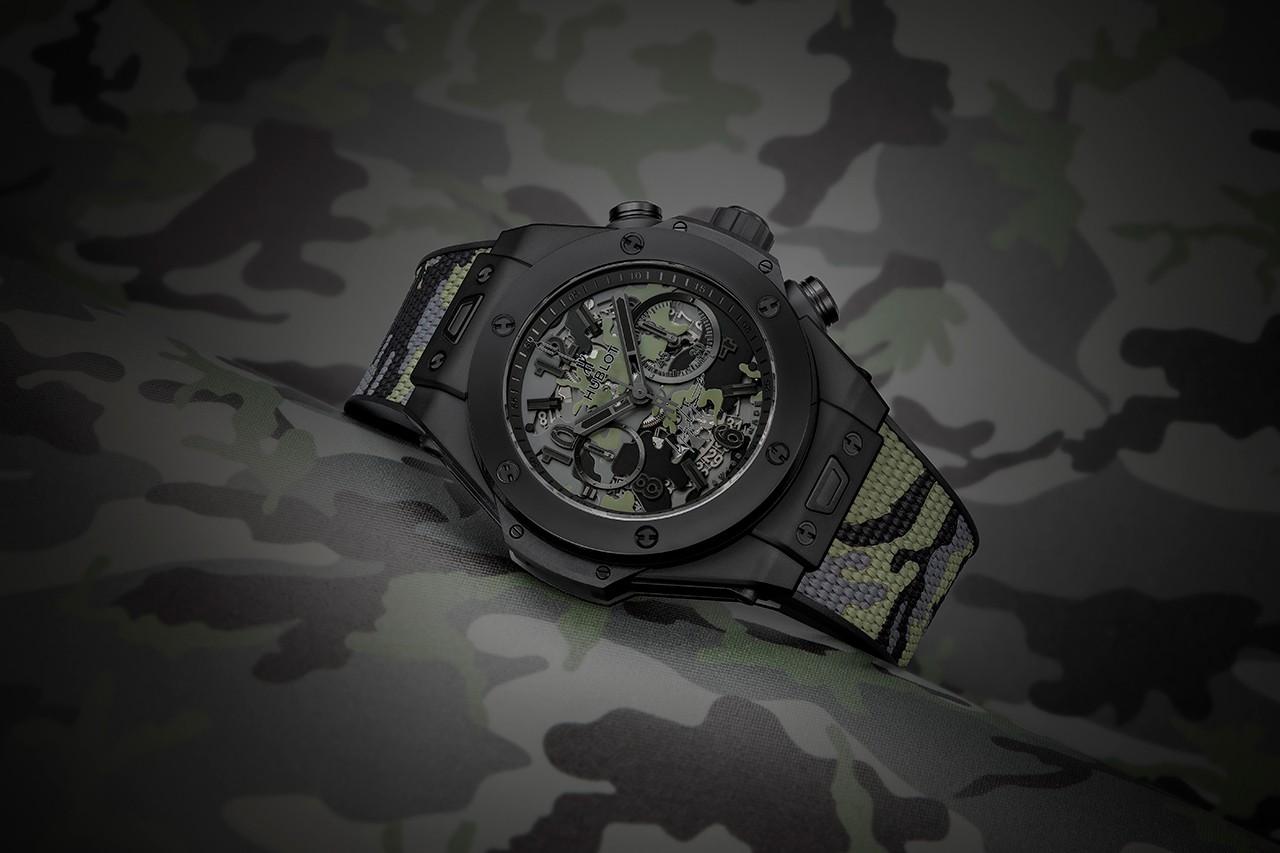 宇舶和山本耀司合力推出大爆炸系列手表迷彩版