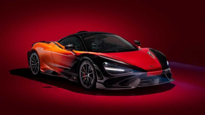 迈凯伦765LT超跑 ,性能加速再提升7.0秒