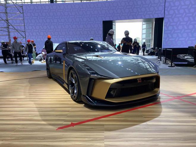 日产GT-R50概念车在北京车展展示