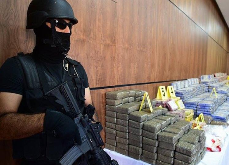 摩洛哥警方查获大概一吨大麻制品