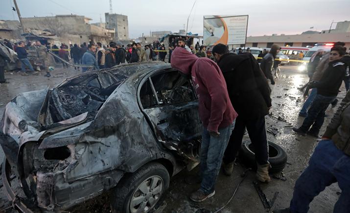 叙利亚东北部汽车爆炸造成 7 人死亡,11 人受伤