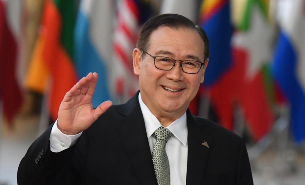 菲律宾外长洛钦:中国经济上取得成功,道义上也同样受到尊重