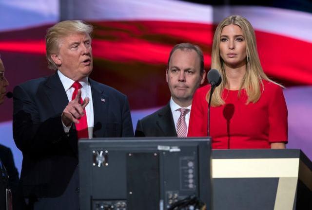 前助手爆料:特朗普曾想让女儿当副总统
