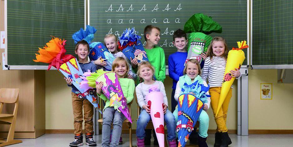 德国小学新生,入学大包裹特色