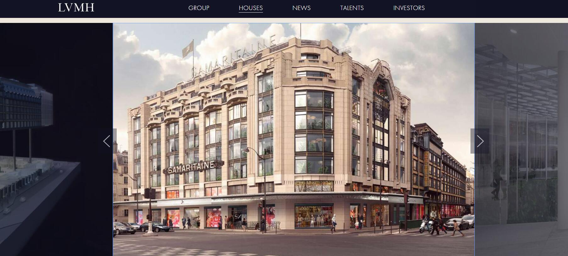 LVMH 集团预热明年开业的巴黎地标建筑 La Samaritaine