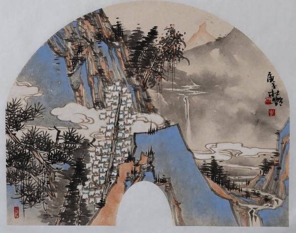 山水画种草:带领你走进梦境的山水画,杜艳作品