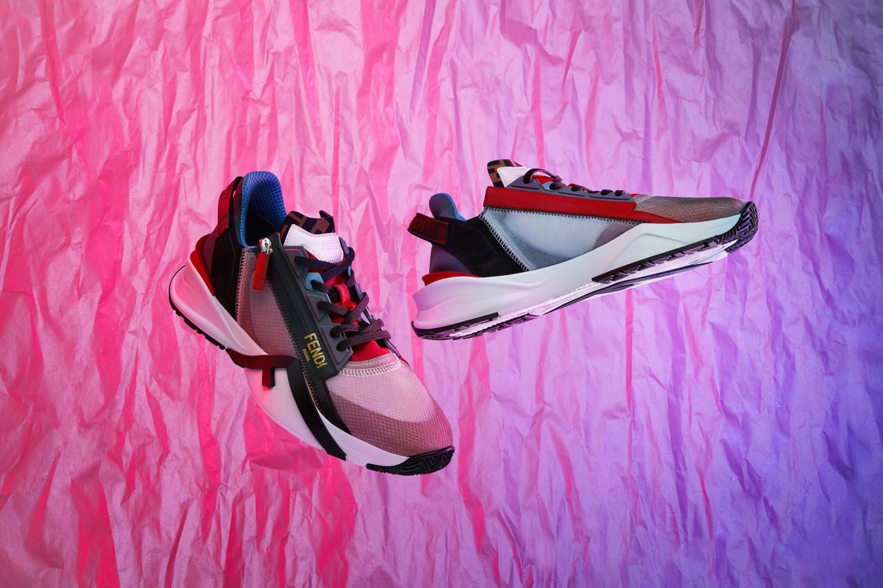 芬迪(Fendi)最新的运动鞋Fendi Flow是奢华与性能的结合