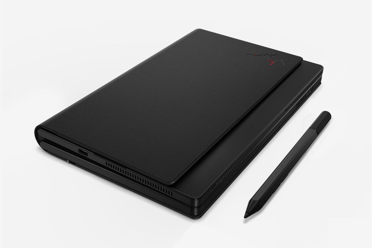 联想的ThinkPad X1 Fold拥有全球首个可折叠笔记本电脑屏幕