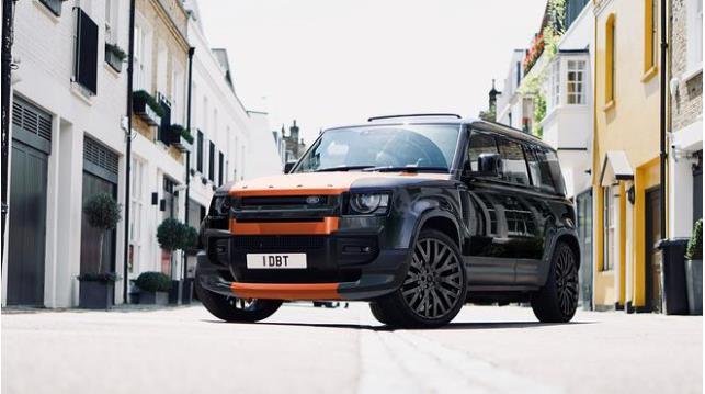路虎推出维苏威版保镖,22英寸车轮和橙色引擎盖