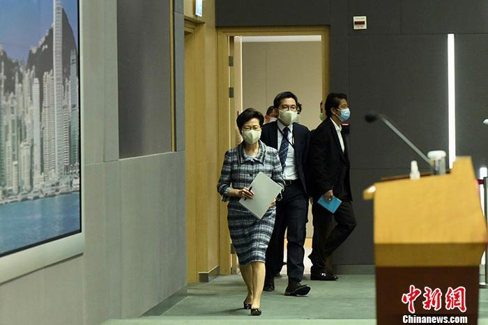 林郑月娥宣布推迟发表施政报告
