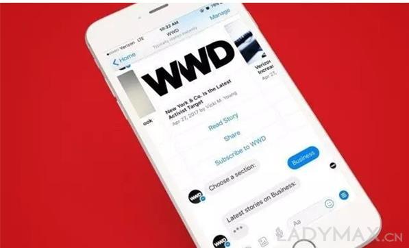 """时尚媒体领袖""""WWD""""昨日进入中国市场,并开设了微信官方账户"""