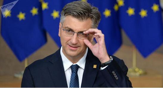 克罗地亚总理收到装有可疑粉末信件 曾被多次威胁