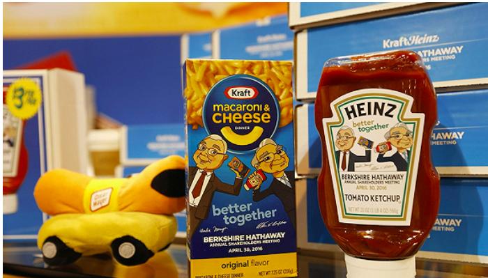 """卡夫·亨氏将切断数千种产品,并专注于在中国支持""""万事达卡""""酱油。"""