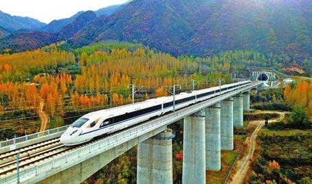 中国高铁计划覆盖95%的百万人口及以上城市
