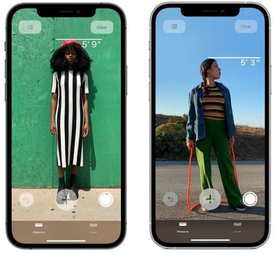 苹果 iPhone 12 Pro开放激光雷达扫描功能:能够测量身高