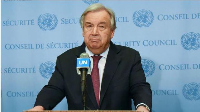联合国秘书长强调加强国际合作