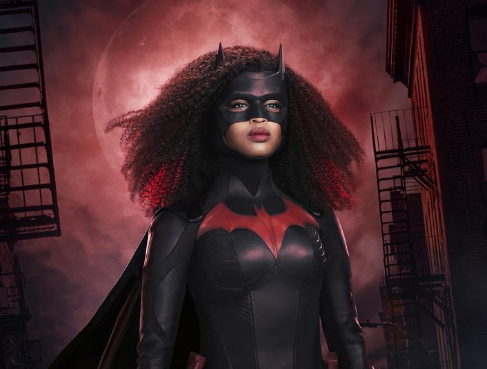 《蝙蝠女侠》第2季新海报黑色蝙蝠女侠造型看起来不错