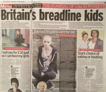"""在英国,200多万贫困儿童可能在流行病的影响下面临""""假日饥饿"""""""