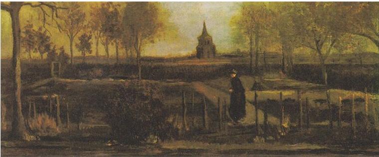 梵高画作在荷兰博物馆被偷走